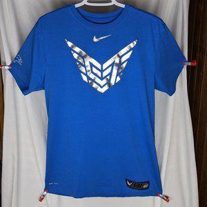 Calvin Johnson Megatron Nike Blue T-shirt